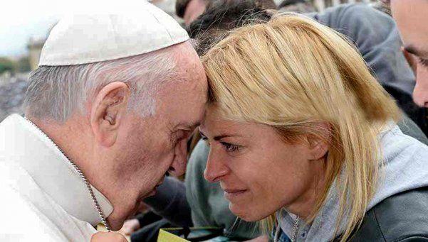 Video | El emotivo pedido de Eugenia Tobal al Papa Francisco