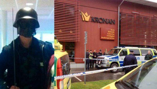 Suecia: disfrazado de Darth Vader entró a una escuela y mató a dos personas