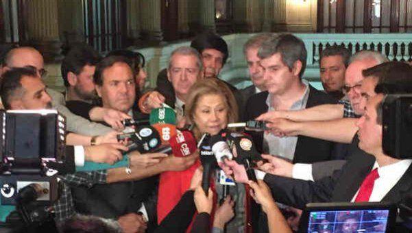 Compromiso de partidos ante la Cámara Electoral