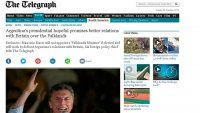 """Diario inglés dice que Macri """"descongelará"""" la relación"""