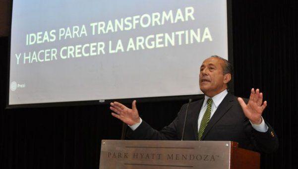 Rodríguez Saá pidió un acuerdo programático
