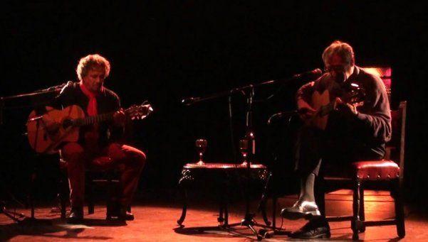 Aquicito nomás recital íntimo de Juan Falú y Jorge Marziali