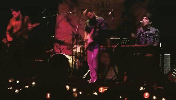 Guilo presentó su primer disco en un muy buen show