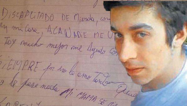Parricidio: con una carta, acusado pidió a hermanastra que no mienta
