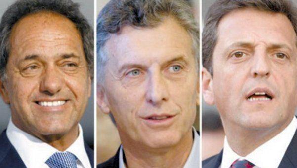 Qué hicieron Scioli, Macri y Massa un día antes de las elecciones