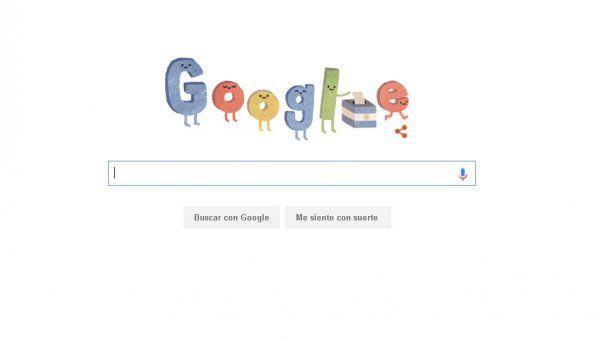 Google también se hace eco de las elecciones argentinas