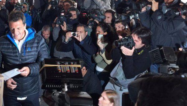 Sergio Massa: Hoy empieza una nueva Argentina