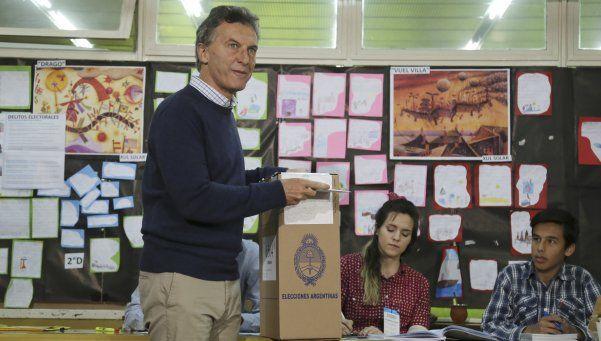 Macri: Argentina vota seguir igual o elegir un cambio en su historia