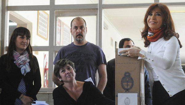 """Cristina Kirchner: """"Votamos en un país normal, como quiso Néstor"""""""
