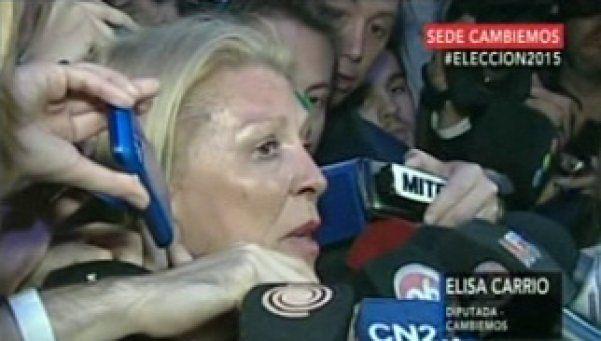 "Para Carrió habrá balotaje y Vidal ""va a ser la gobernadora"""