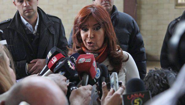 """""""No están dadas las condiciones para que Cristina concurra al Congreso"""""""