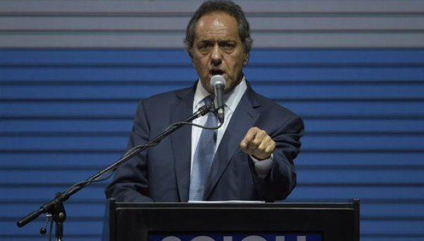Scioli: No es un problema de miedo, sino de memoria