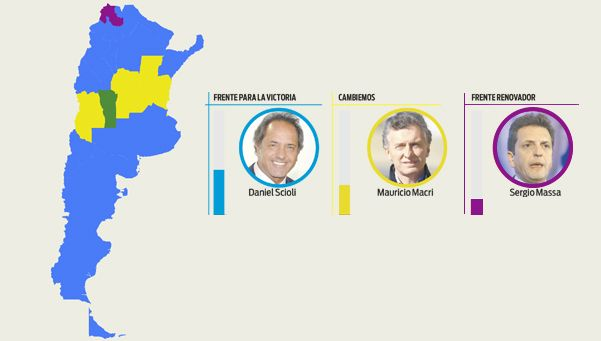 Infografía | El mapa de los candidatos: ¿cómo les fue en las provincias?