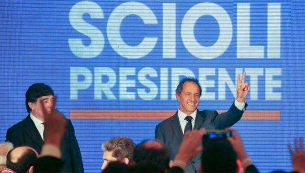 Scioli: Ganamos en las PASO, ayer y vamos a ganar el 22 de noviembre
