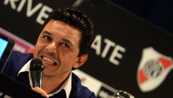 Gallardo confirmó que no arriesgará a DAlessandro en el Superclásico