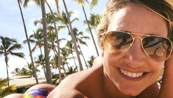Andrea Ghidone incendió Miami con su topless