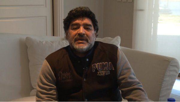 El video mala leche contra Diego Maradona