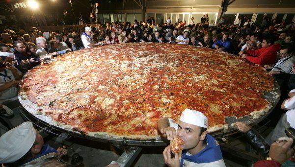 """El próximo domingo se hará """"La pizza más larga de Buenos Aires"""""""