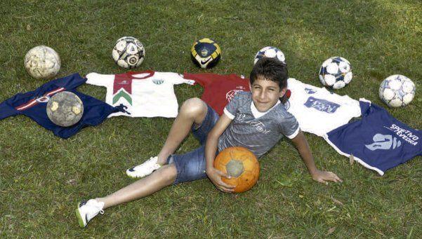 Darío espera solidaridad para volver al baby fútbol
