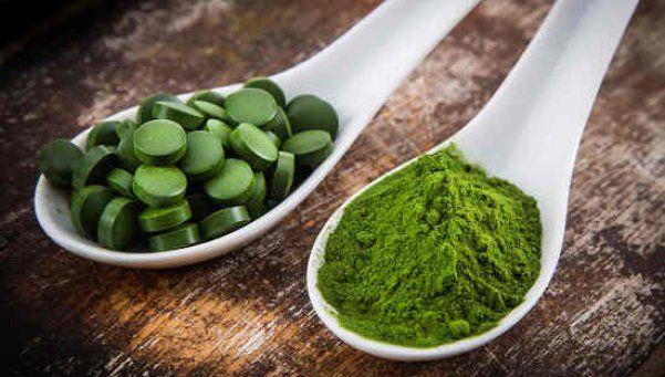La espirulina y el té verde: bienestar y una buena nutrición