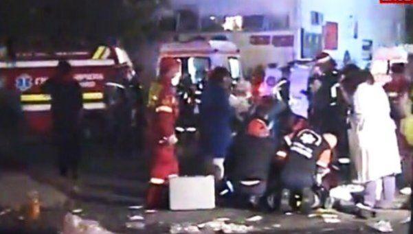 Explosión en una discoteca en Rumania: al menos 27 muertos