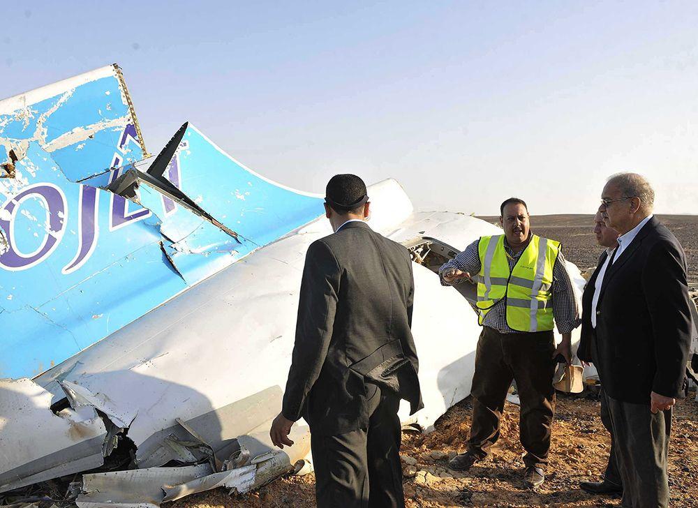 Galería | Las imágenes del lugar donde cayó el avión ruso