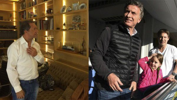 Scioli y Macri festejaron el nuevo campeonato de Boca