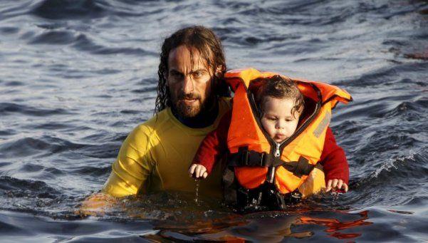 Nicolás Montán, el argentino que rescata a refugiados en el mar