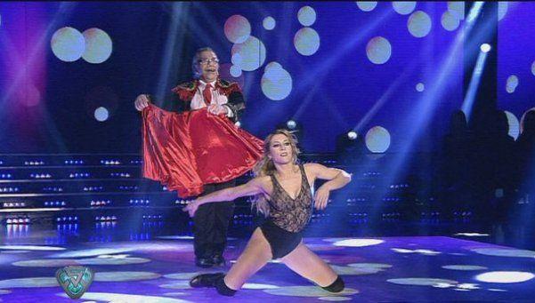 Campi brilló como Enrique Pinti en el Bailando