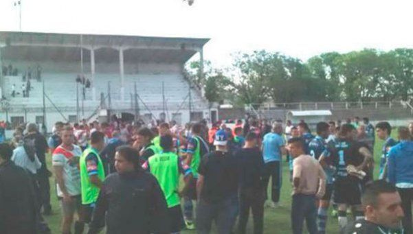 Video | Por un penal se armó un gran Candombe en Luján