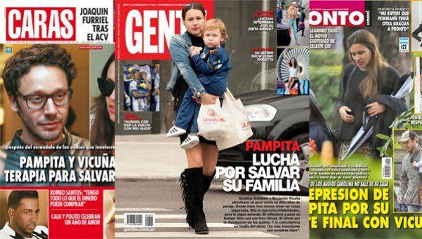La separación Pampita-Vicuña en las revistas