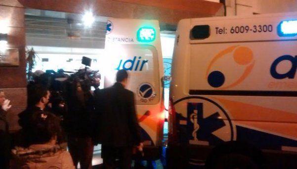 Matías Alé fue internado en el Otamendi por fuerte cuadro febril