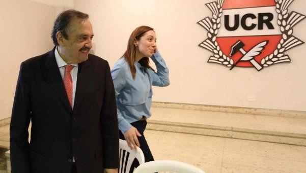 Vidal, cara a cara con los intendentes radicales