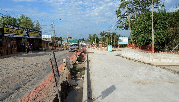 En Benavídez avanzan las obras de pavimentación