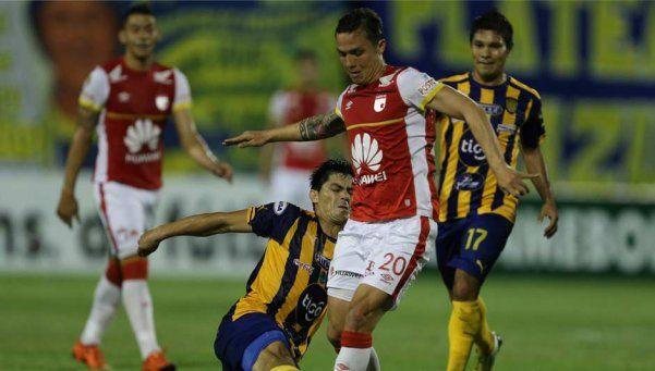 Sudamericana: en la otra semi, igualaron Luqueño e Independiente Santa Fe
