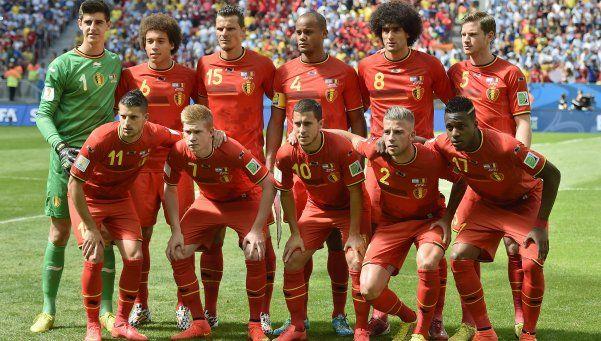 Bélgica lidera el ranking de la FIFA y desplaza a Argentina