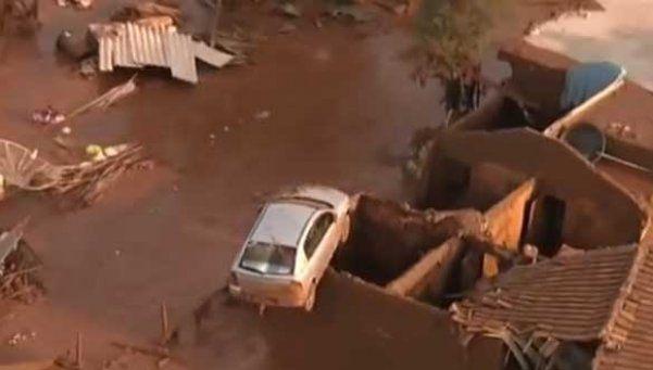 Derrumbe en Brasil: al menos 17 muertos y 50 desaparecidos