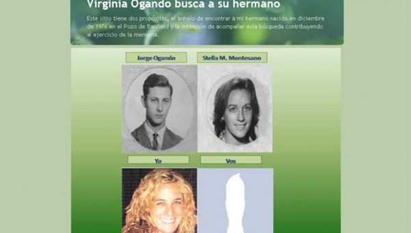 La trágica historia de Virginia Ogando, la hermana del nieto 118