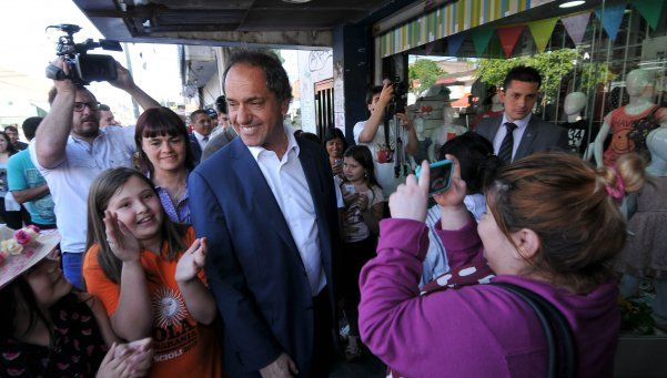 "Scioli: ""Con el PRO se viene la suba de las tarifas"""