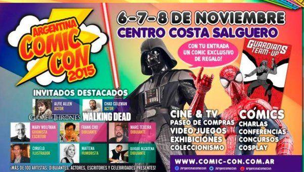 Hoy comienza Argentina Comic-Con
