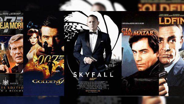 Las 5 versiones de James Bond que no podés dejar de ver