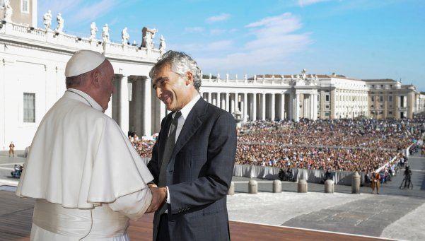 El Papa criticó situaciones de precariedad y trabajo en negro