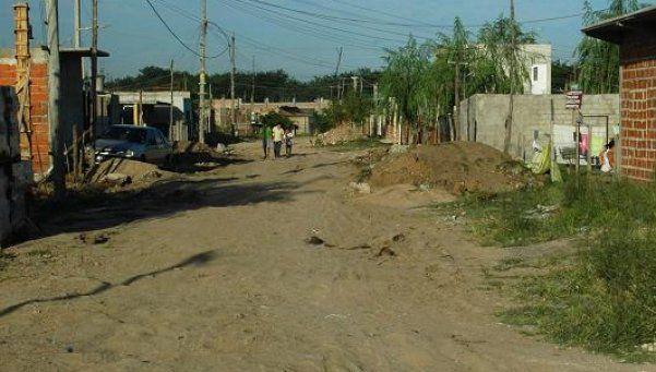 Una merienda solidaria en el barrio La Palangana