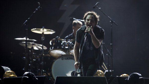 Pearl Jam: rock inoxidable en el Unico de La Plata