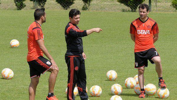 Gallardo apostará a la rotación para el choque ante Godoy Cruz