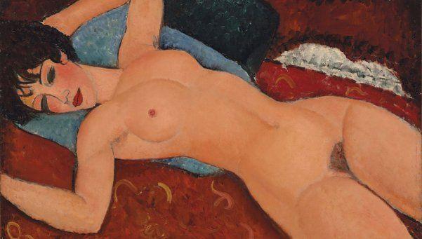 Esta pintura de Modigliani vale 170,4 millones de dólares