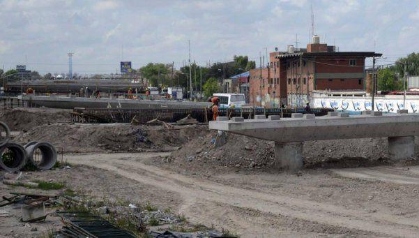 Avance de dos obras para agilizar el tránsito en Lomas de Zamora