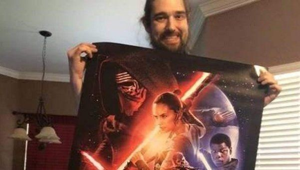 Fan de Star Wars cumplió su sueño de ver último film antes de morir