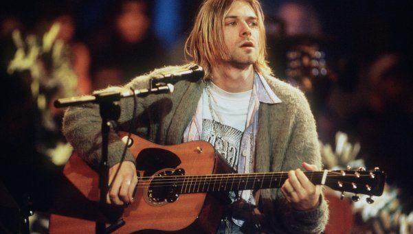 El cárdigan de Kurt Cobain fue rematado: U$S140.800