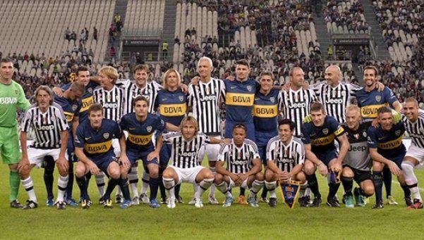 Se canceló el partido de leyendas entre Boca y Juventus